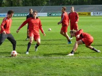 1. Training unter Peter Jakubec