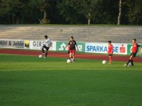 2. Training mit GC Zürich in Dornbirn (15.09.11)