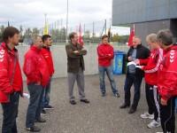 Besuch des Trainingscamp von Grasshoppers Zürich (12.10.11)