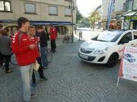 FCD auf dem Dornbirner Stadtmarkt (24.09.11)