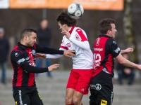 Fussball, Regionalliga West, Nachtragsspiel, FC Dornbirn - FC Hard, Manuel Honeck, Stefan Steinhauser, Ibrahim erbek