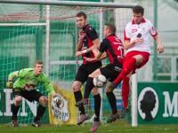 Fussball, Regionalliga West, Nachtragsspiel, FC Dornbirn - FC Hard, Deniz Mujic, Aleksandar Umjenovic, Hardy Feigt