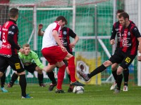 Fussball, Regionalliga West, Nachtragsspiel, FC Dornbirn - FC Hard, Deniz Mujic, Aleksandar Umjenovic