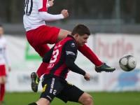 Fussball, Regionalliga West, Nachtragsspiel, FC Dornbirn - FC Hard, Manuel Honeck, Christoph Fleisch