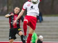 Fussball, Regionalliga West, Nachtragsspiel, FC Dornbirn - FC Hard, Deniz Mujic, Hardy Feigt