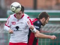 Fussball, Regionalliga West, Nachtragsspiel, FC Dornbirn - FC Hard, Dominik Heidegger, Aleksander Umjenovic
