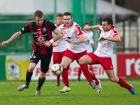 Fussball, Regionalliga West, Nachtragsspiel, FC Dornbirn - FC Hard, Aleksander Umjenovic