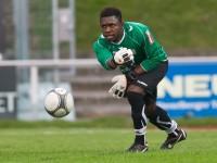 Fussball, Regionalliga West, Nachtragsspiel, FC Dornbirn - FC Hard, Edwin-Joshua Ndybisi