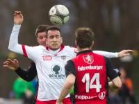 Fussball, Regionalliga West, Nachtragsspiel, FC Dornbirn - FC Hard, Semih Yasar, Christoph Fleisch