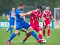 Fussball, Regionalliga West, 1. Spieltag, FC Dornbirn - Pinzgau/Saalfelden, dennis alibabic