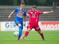 Fussball, Regionalliga West, 1. Spieltag, FC Dornbirn - Pinzgau/Saalfelden, christoph domig