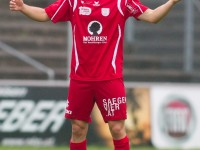 Fussball, Regionalliga West, 1. Spieltag, FC Dornbirn - Pinzgau/Saalfelden, aaron kircher