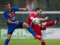 Fussball, Regionalliga West, 1. Spieltag, FC Dornbirn - Pinzgau/Saalfelden, johannes hirschbühl