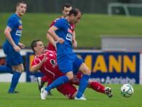 Fussball, Regionalliga West, 1. Spieltag, FC Dornbirn - Pinzgau/Saalfelden, stephan kirchmann