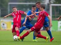 Fussball, Regionalliga West, 1. Spieltag, FC Dornbirn - Pinzgau/Saalfelden, christoph domig, marc kühne