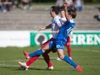 Fussball, Regionalliga West, 11. Spieltag, FC Dornbirn - SC Schwaz, Aaron Kircher
