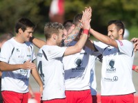 Fussball, Regionalliga West, 11. Spieltag, FC Dornbirn - SC Schwaz, Yusuf Özüyer, tor zum 1:0