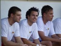 Fussball, Regionalliga West, 1. Spieltag, Derby, FC Dornbirn - SCR Altach Amateure, Elvis Alibabic