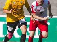 Fussball, Regionalliga West, 1. Spieltag, Derby, FC Dornbirn - SCR Altach Amateure, Gültekin Sönmez, Aaron Kircher