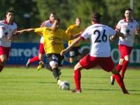 Fussball, Regionalliga West, 1. Spieltag, Derby, FC Dornbirn - SCR Altach Amateure, Felipe Dorta
