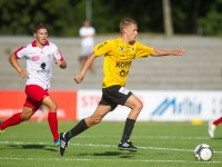 Fussball, Regionalliga West, 1. Spieltag, Derby, FC Dornbirn - SCR Altach Amateure, julian erhart