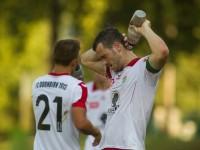 Fussball, Regionalliga West, 1. Spieltag, Derby, FC Dornbirn - SCR Altach Amateure, Johannes Hirschbühl