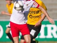 Fussball, Regionalliga West, 1. Spieltag, Derby, FC Dornbirn - SCR Altach Amateure, Semih Yasar