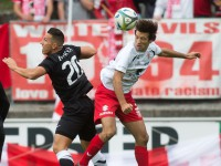 Fussball, Regionalliga West, 9. Spieltag, FC Dornbirn - SW Bregenz, manuel Honeck, marcel riedeberger