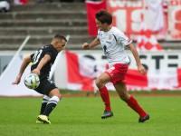 Fussball, Regionalliga West, 9. Spieltag, FC Dornbirn - SW Bregenz, manuel Honeck