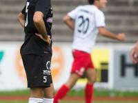 Fussball, Regionalliga West, 9. Spieltag, FC Dornbirn - SW Bregenz, Tor zum 3:0 durch manuel Honeck