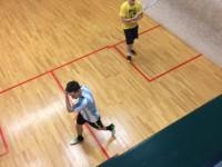 KM in der Squashhalle