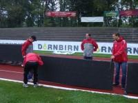 ÖFB-CUP: Stadionaufbau (24.09.12)