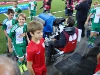 Rothosen U13 im Europa League Einsatz