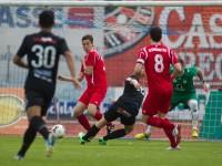 Fussball, Regionalliga West, Derby, SC Bregenz - FC Dornbirn, Tor zum 1:0