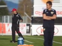 fussball, regionalliga west, derby, scr altach amateure - fc dornbirn,  werner grabherr, peter jakubec