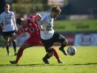 fussball, regionalliga west, derby, scr altach amateure - fc dornbirn, christoph domig, philipp hörmann
