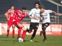 fussball, regionalliga west, derby, scr altach amateure - fc dornbirn, semih yasar