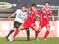 fussball, regionalliga west, derby, scr altach amateure - fc dornbirn, christoph domig, philipp hörmann