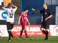 fussball, regionalliga west, derby, scr altach amateure - fc dornbirn,  thomas gangl