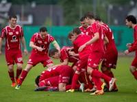 sport fussball, vfv-cupfinale FC Dornbirn - VfB Hohenems VFV-Cupfinale