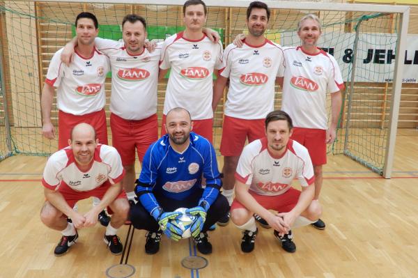 Der Titelverteidiger FC Dornbirn holte sich heuer den dritten Platz. ©cth
