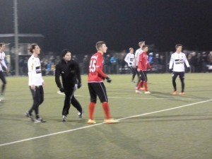 Florian Prirsch spielte bei seiner Premiere im FCD-Dress durch