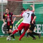 Fussball, Regionalliga West, Nachtragsspiel, FC Dornbirn - FC Hard, Deniz Mujic