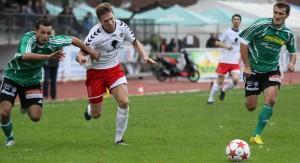 Patrick Schäfer schoss mit dem wichtigen 2:0 unsere Elf auf die Siegerstraße!