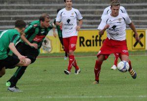Fabian Flatz schoss die viel umjubelte 1:0-Führung!