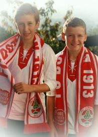 Felix und Kilian im FCD-Look!