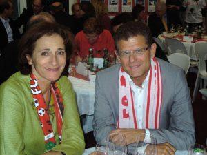 VFV-Präsident Horst Lumper mit Landesrätin Bernadette Mennel