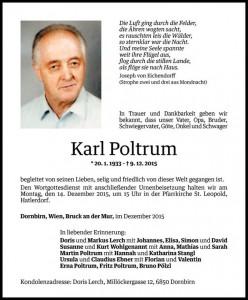 Karl Poltrum