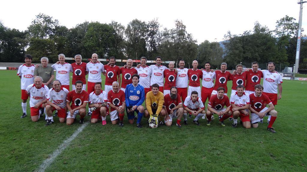 Mannschaft AH Dornbirn Gedenkspiel 11 Sept 2015