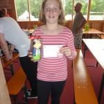 Glückliche Gewinnerin: Celine Diem